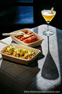 LOS ANGELES. CULVER CITY. Le bar Alibi Room propose les fameuses tapas the Kogi Taqueria