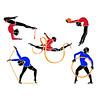 Rhytmic gymnasts