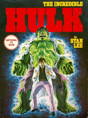 Marvel Comics Fireside Books from the 1970s