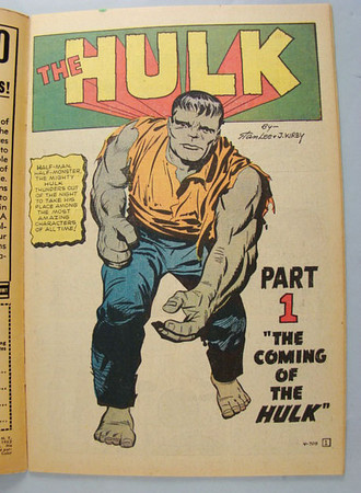 The Incredible Hulk: Issue #1