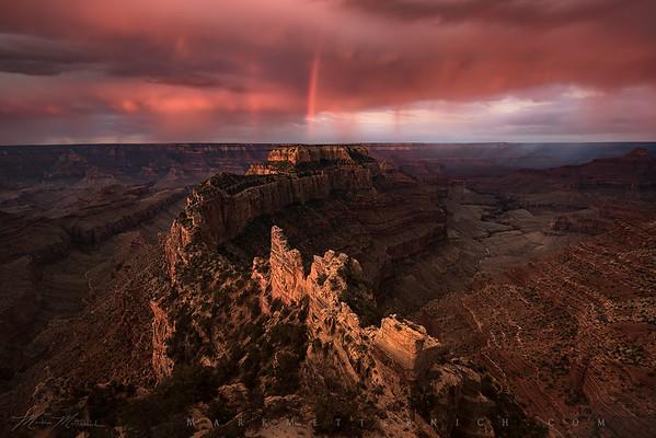 """""""Red Rain Falling"""" (Arizona)"""