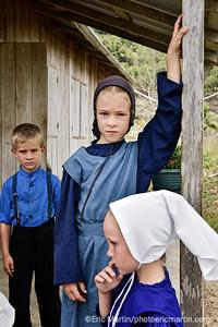 BELIZE. Ecole du village Mennonite de Barton Creek