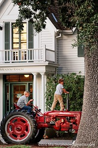 CALIFORNIE. NAPA VALLEY & SONOMA. LE GENERAL STORE DE LONG MEADOW RANCH A SAINT HELENA DANS LA NAPA VALLEY