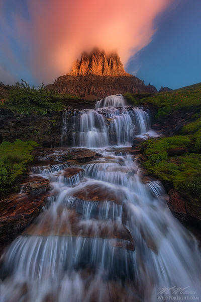 Glacier Eruption
