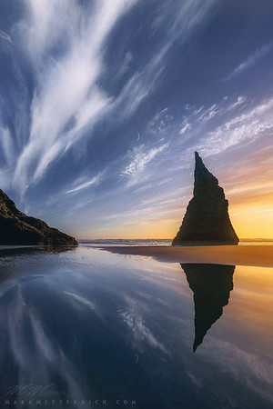 """""""Other World"""" (with moon)  - Oregon"""
