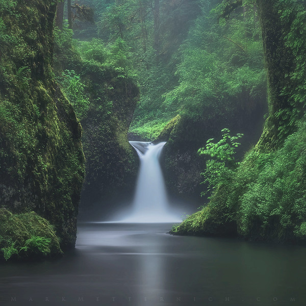"""Solitude Falls""  ©Mark Metternich Photography, LLC."