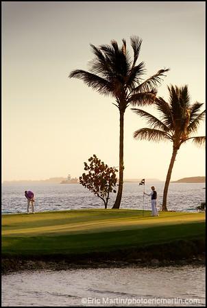 BAHAMAS GOLF. Ocean Club Golf Course, Paradise Island Bahamas