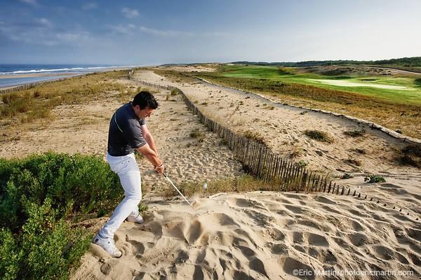 FRANCE. SURF LANDES. L ESPRIT SURF DANS LE DEPARTEMENT DES  LANDES. Le Golf de Moliets