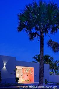 REPUBLIQUE DOMINICAINE. CLUB MED MICHES PLAYA ESMERALDA DANS LA BAIE DE SAMANA. Le Coco Plum Beach Lounge