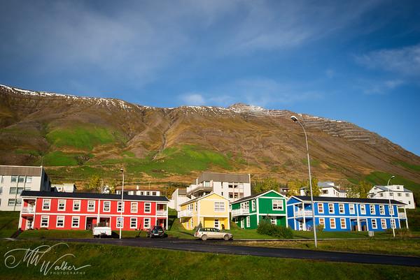 Rainbow Houses