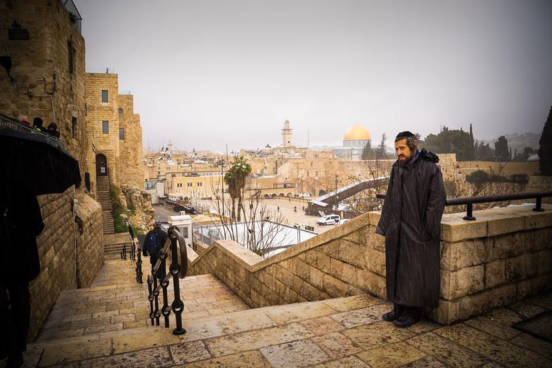 JERUSALEM IN THE SNOW