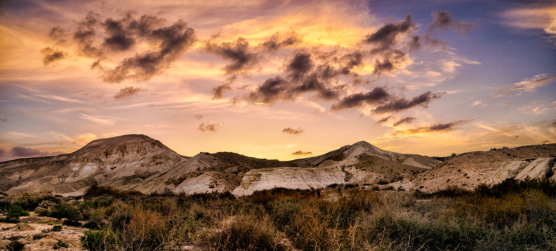 Desert Sunset - Sde Boker