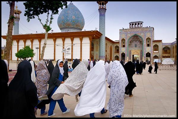 IRAN / SHIRAZ. MausolŽe de Shah Cheragh