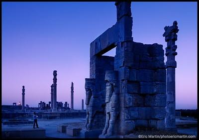 IRAN / SHIRAZ. PERSEPOLIS.