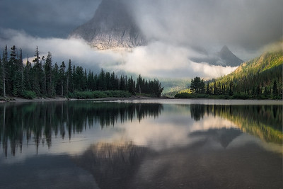 """Dreaming at Pray Lake"" (Montana)"