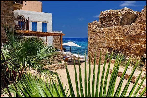 LIBAN. VILLE DE TYR.  DAR ALMA BOUTIQUE HOTEL.