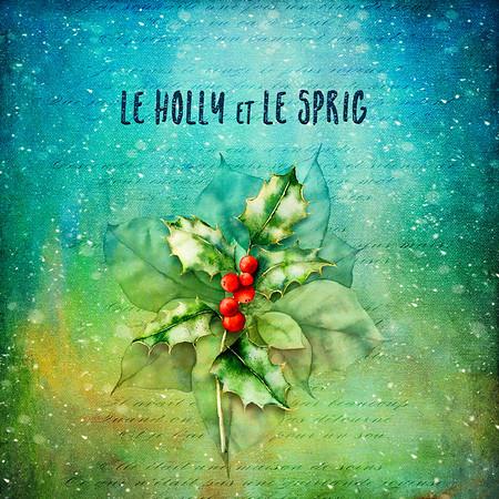 Le Holly Et Le Spring