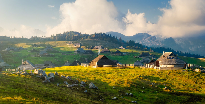Velika Planina Afternoon