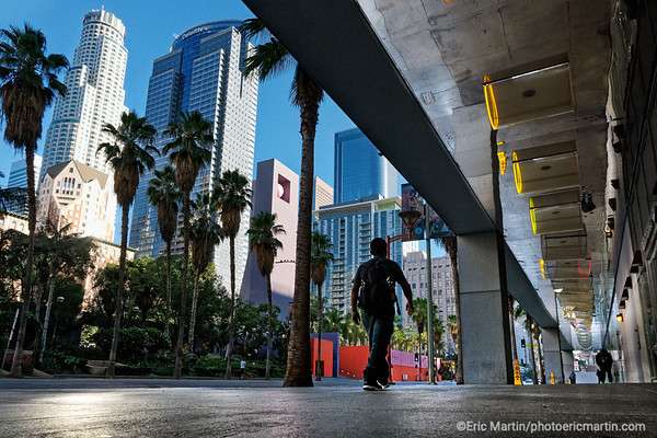 LOS ANGELES. DOWNTOWN. Pershing Square