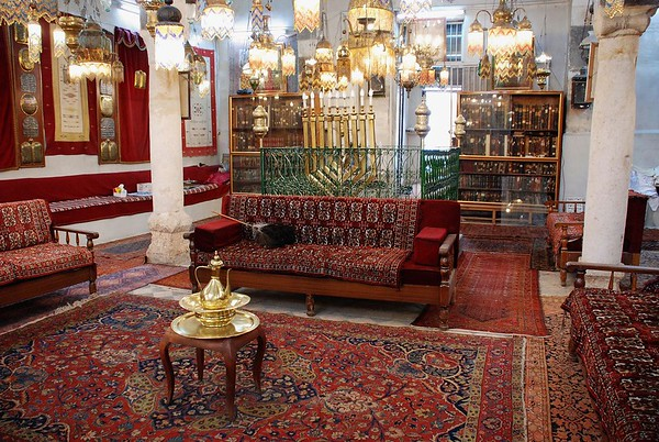 Eliyahu HaNabi Synagogue in the Jobar neighborhood of Damascus