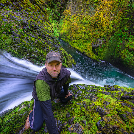 Mark Metternich,  Metlako Falls Oregon