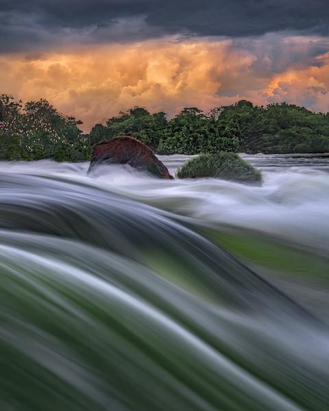 Jinja Falls - Uganda Africa