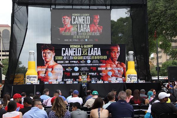 2014 Canelo vs Lara press confrence may 7