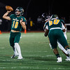 Fitchburg State's James Antonelli passes the ball during the game against Framingham State on Friday, October 6, 2017. SENTINEL & ENTERPRISE / Ashley Green