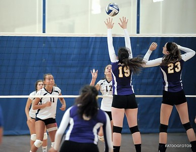 Emerson vs Western CT women's volleyball 9-7-2013