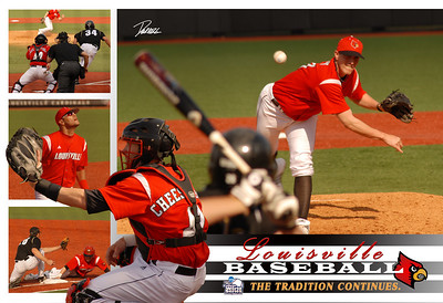 A Print i designed for coach McDonnell.  This Print is currently hanging in the UofL Baseball Office.