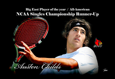 A Print i designed for coach Ecarma.  This print is hangin up in the UofL Bass-Rudd Tennis Center.