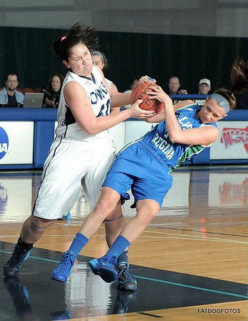 WSU vs Salve Regina Women's BBall 11-23-2013