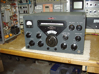 """After the pressure wash, cleaning the front panel and knobs, and applying a new dial scale over """"old yeller""""."""