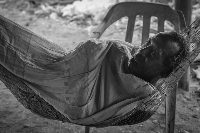 Healing at the fishing village of Chupundun, on Isla Mucura.
