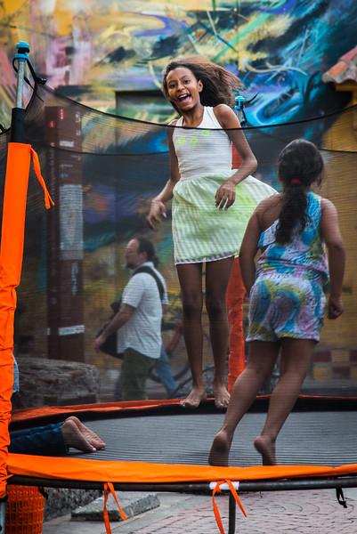 Trinidad Plaza,  Barrio Getsemeni , Cartagena.