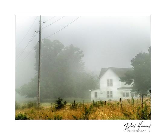 Foggy Morning / Rural House