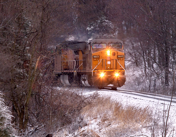 Winter Coal Drag
