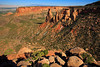 CO COLORADO NATIONAL MONUMENT GRAND VIEW KISSING COUPLE SEPTJG_MG_6536SSW