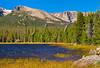 CO ESTES PARK ROCKY MOUNTAIN NATIONAL PARK Bierstadt Lake SEPTAH_9137576bMMW