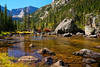 CO ESTES PARK ROCKY MOUNTAIN NATIONAL PARK MILLS LAKE MILLS LAKE TRAIL SEPTAG_9211761eMMW