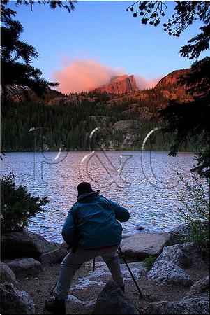 CO ESTES PARK ROCKY MOUNTAIN NATIONAL PARK BEAR LAKE SUNRISE SEPTJG_MG_7126SSW