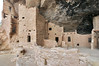 Spruce Tree House in Mesa Verde National Park, Colorado. This picture is stitched.