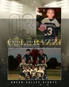 Cayden Football