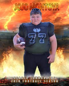 Football Individual #2 JOJO