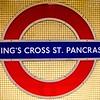 Kings Cross St Pancras Underground Station in London
