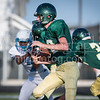 Canyon Lake Hawks Freshman Football played the Austin Reagan Raiders (non-conference). [Sep. 6, 2017]