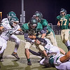 The Canyon Lake High School Varsity football team defeated Taylor High School, 28 - 14, to clinch the District title. [Nov. 10, 2017]