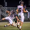 The Canyon Lake Hawks JV Football vanquished the Giddings High School Bufaloes (non-conference) 14 - 8. [Sep. 14, 2017]