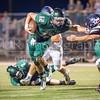 "Canyon Lake High School lost their homecoming game and annual ""Battle of the Backbone"" to the Wimberley Texans, 20 - 13. [Sep. 22, 2017]"
