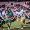 The Canyon Lake High School Varsity football team defeated the Austin Akins High School Eagles, 56 - 28. [Oct. 6, 2017]